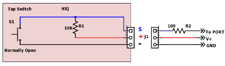 Relay Driver with LED connection diagram